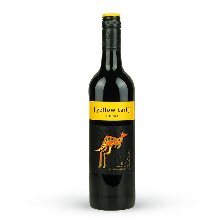黄尾袋鼠西拉红葡萄酒(2支装)