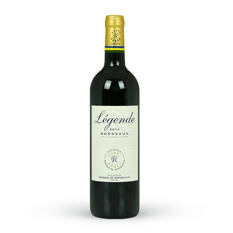 拉菲传奇波尔多红葡萄酒(2支装)